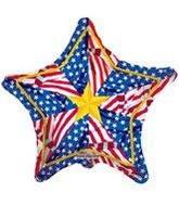 "18"" Old Glory Pinwheel"