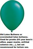 "16""  Prank Latex Balloons Qualatex  Pearl EMERALD 50CT"