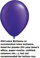 "16""  Prank Latex Balloons Qualatex Pearl PURPLE  50CT"