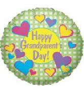 "9"" Airfill Happy Grandparent's Day Hearts M410"