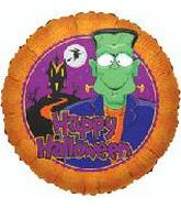 "18"" Happy Halloween Cartoon Frankenstein"