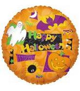 "18"" Happy Halloween Ghosts/Bats/Pumpkin"