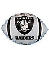 "9"" Airfill Raiders Football Shape"