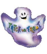 "14"" Airfill Halloween Ghost Mini Shape"