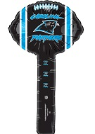 Air Filled Hammer Balloon Carolina Panthers