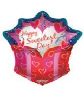 "14"" Airfill Only Sweetest Day Gift Jumbo Shape"