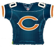 "23""Foil Jersey Balloon Chicago Bears"