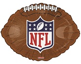 "18""  NFL Logo Football Shape Balloon"