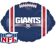 "18"" NFL Foil Balloon New York Giants"