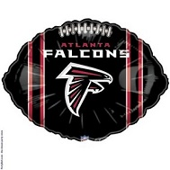 "9"" Airfill NFL Atlanta Falcons"