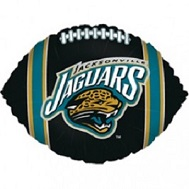 "9"" Airfill Only NFL Balloon Jacksonville Jaguars"
