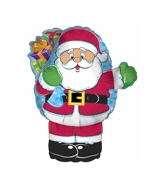 "14"" Airfill Only Santa Balloon"