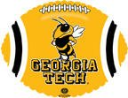 "18"" Collegiate Football Georgia Tech"