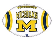 "18"" Collegiate Football University Of Michigan"