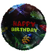 "18"" Happy Birthday Bugs Mylar Balloon"