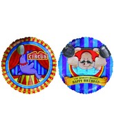 "18"" World&#39s Biggest HB Circus Themed Mylar Balloon"