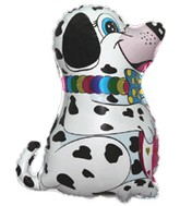 "24"" Dalmatian Dog Balloon Profile"