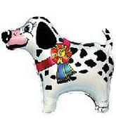 "22"" First Place Dalmatian Dog Balloon"