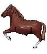 "9"" Airfill Horse Dark Brown"