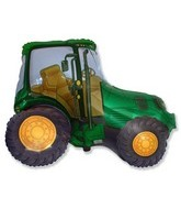 "31"" Green Tractor Shape"