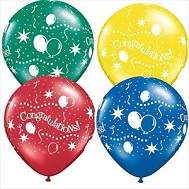"11"" Congratulations! Party Assorted (100 ct.)"