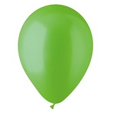 "9"" Lime Green Pearl Latex - 100 Ct Bag"