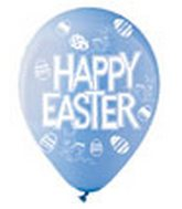 "12"" PASTL Ast. Festive Happy Easter Latex 50&#39s"