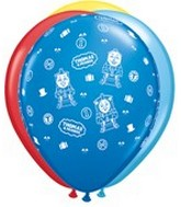 "11"" Assorted Latex Balloons Thomas & Friends"