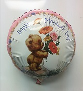 "18"" Happy Mother&#39s Day Bear at Door"