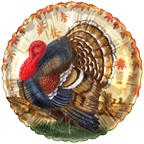 "18"" Traditional Turkey No Message"