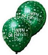 "12"" St. Patrick's Day Latex 50's"