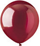 "17"" Crystal Red Latex 72 Count"