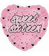 18&#39&#39 Sweet Sixteen (Pink Heart)