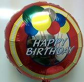 "18"" Happy Birthday Bullseye"