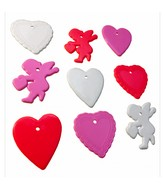 8-10 Gram Valentine&#39s Day Shape 100 Count