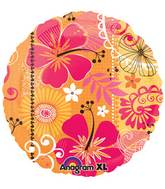 "18"" Tropical Heat Foil Balloon"