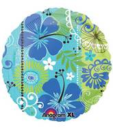 "18"" Tropical Breeze Foil Balloon"