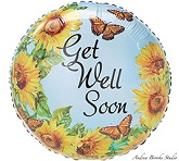 "18"" Get Well Savannah Balloon"