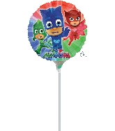 "9"" Airfill Only PJ Masks Balloon"