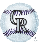 "18"" Colorado Rockies Balloon"