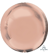 "16"" Jumbo Orbz Rose Gold Balloon"