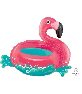 "30"" Floating Flamingo Beach Balloon"