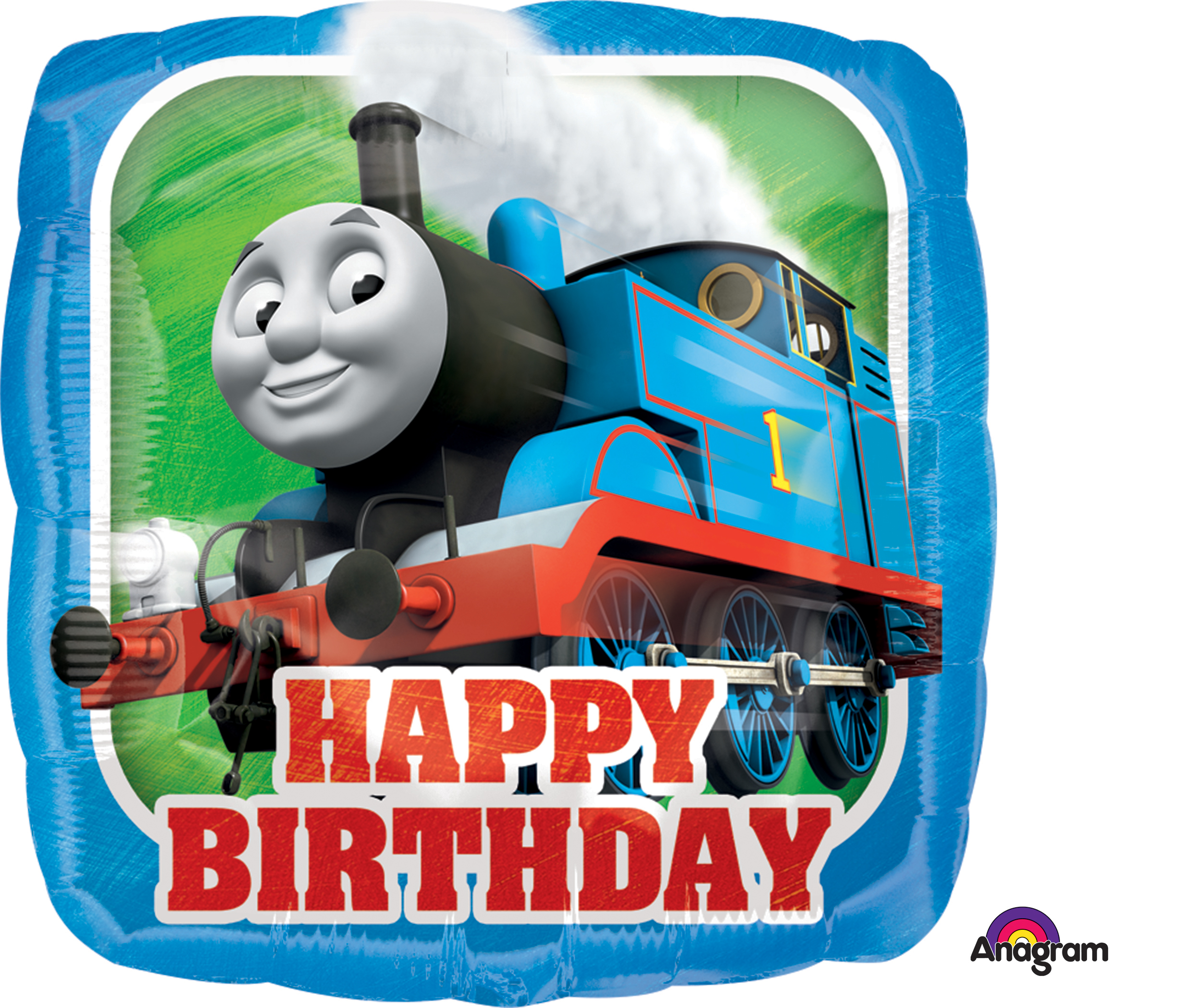 "18"" Thomas the Tank Engine HBD Balloon"