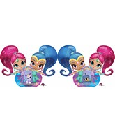 "53"" Airwalker Shimmer & Shine Balloon"