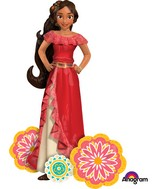 "54"" Airwalker Elena of Avalor Balloon"