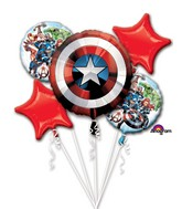 Bouquet Avengers Shield Balloon