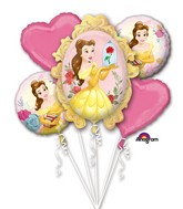 Bouquet Beauty and the Beast Balloon