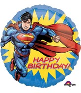 "18"" Superman HBD Balloon"