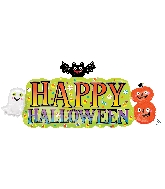 "36"" Jumbo Halloween Banner Balloon"
