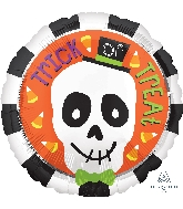 "18"" Trick Or Treat Skull Balloon"